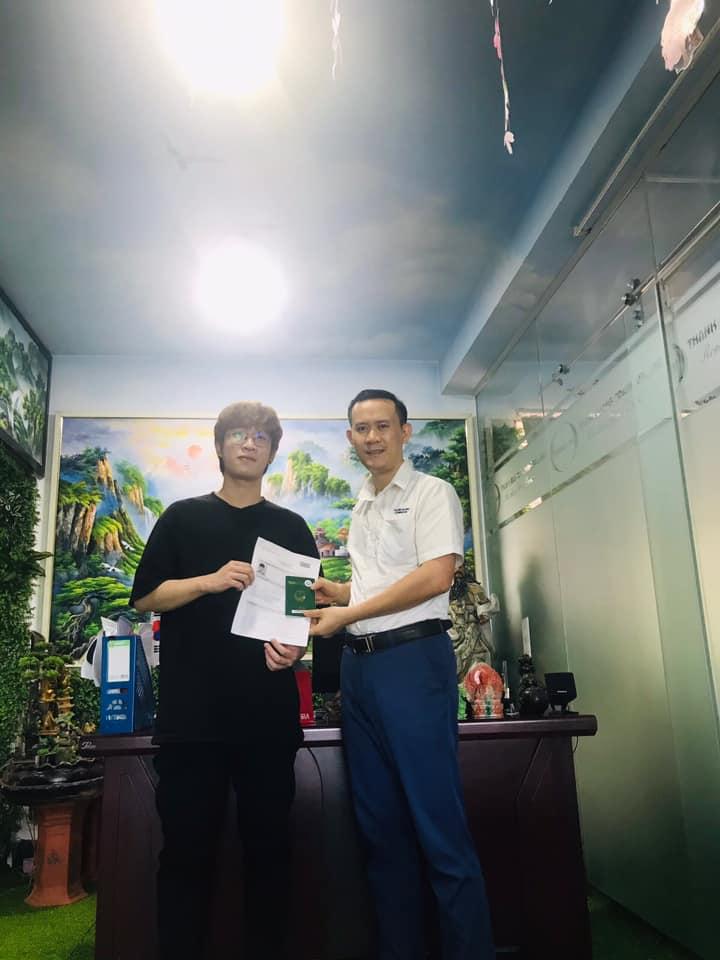 học viên của Thanh Giang Nguyễn Đức Nhật