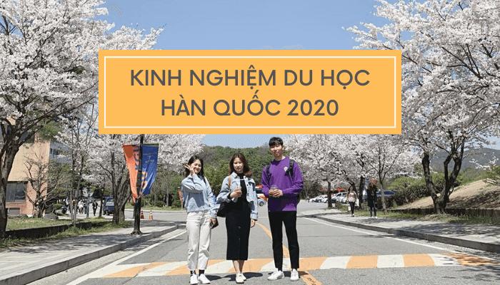 Kinh nghiệm du học Hàn Quốc nhất định phải biết