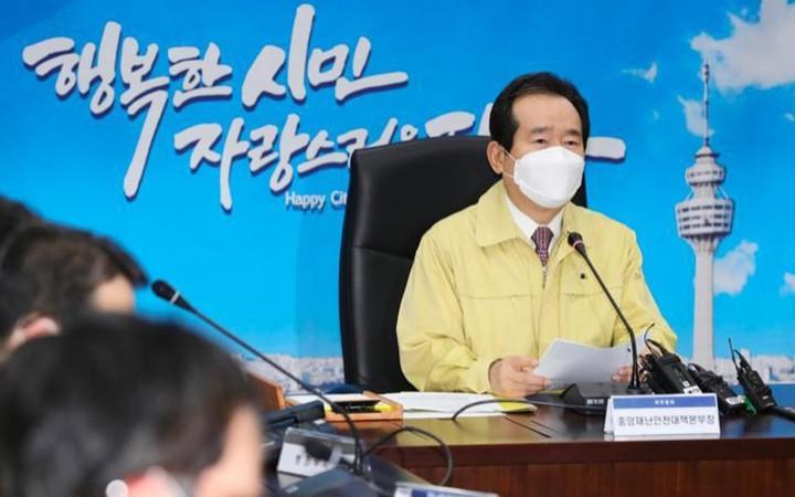 Hàn Quốc ghi nhận số ca nhiễm COVID-19 kỷ lục, người dân toàn lực chống dịch