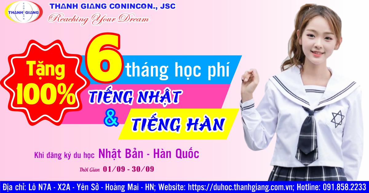Tặng 100% học phí mừng sinh Nhật Thanh Giang 9 tuổi