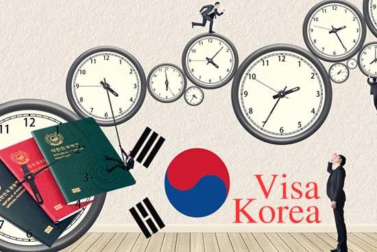 Xin visa Hàn Quốc mất bao lâu? Cần những thủ tục và giấy tờ gì?