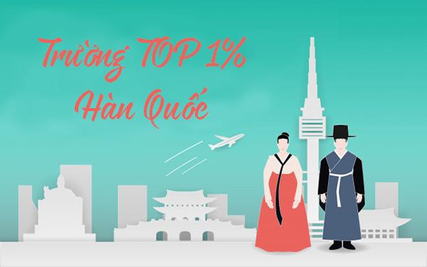 Cập nhật danh sách các trường TOP 1% ở Hàn Quốc mới nhất