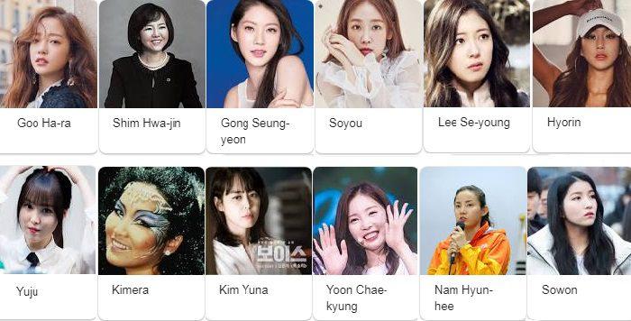 Cựu sinh viên nổi bật của trường Đại học Sungshin