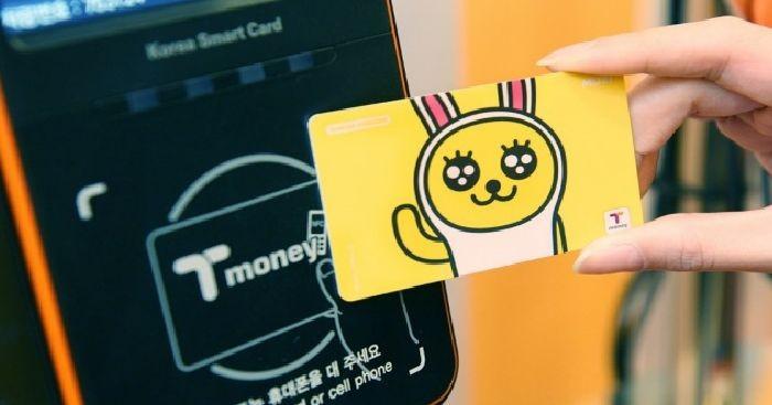 Tậu chiếc card T-money đi tàu điện ngầm và xe bus