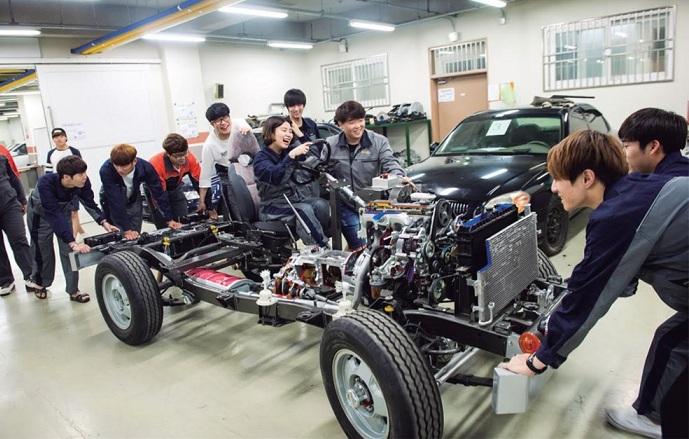 Du học Hàn Quốc ngành Công nghệ ô tô