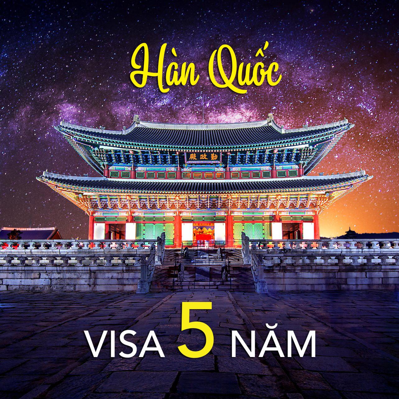 GIẢI ĐÁP những thắc mắc khi xin visa Hàn Quốc 5 năm – Multiple