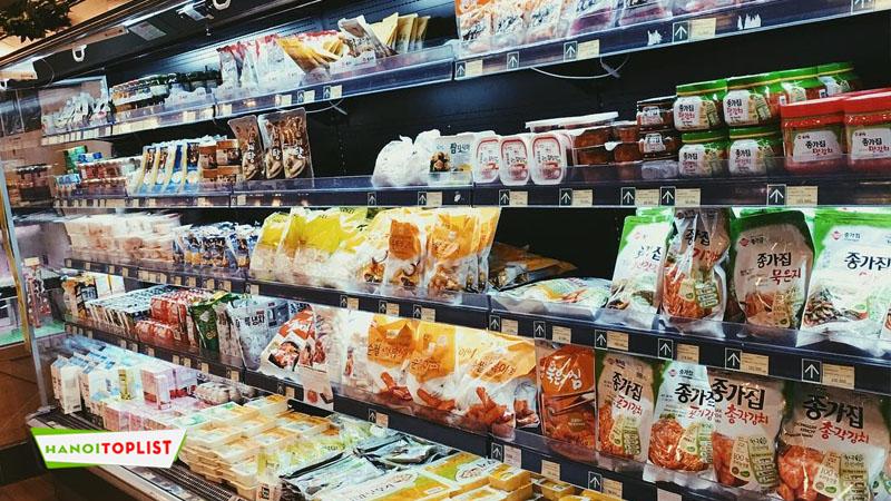 Tổng hợp kinh nghiệm đi siêu thị Hàn Quốc cho du học sinh
