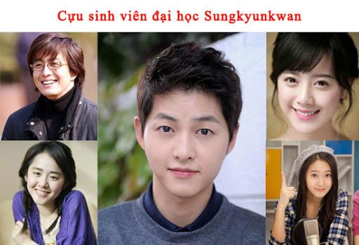Những nam thần, nữ thần Kpop là cựu sinh viên của đại học Sungkungkwan