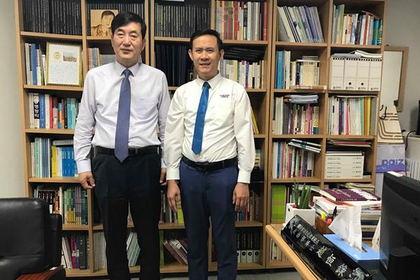 Thanh Giang tại đại học Sangmyung