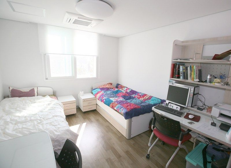 Kí túc xá Đại học Sangmyung hiện đại dành cho hai người