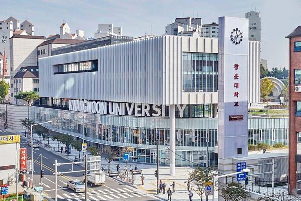 Trường đại học Kwangwoon có vị trí vô cùng thuận tiện